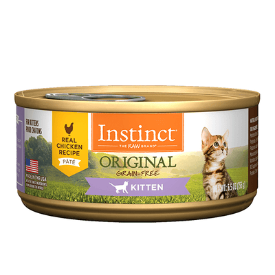 Instinct Original Real Chicken Recipe for Kittens | Pisces Pets