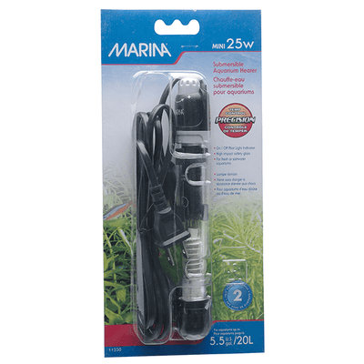 Marina Mini Submersible Heater - 25 Watt