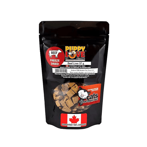 Puppy Love Freeze Dried Beef Liver | Pisces Pets