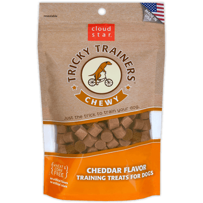 Cloud Star Chewy Tricky Trainer Cheddar | Pisces Pets