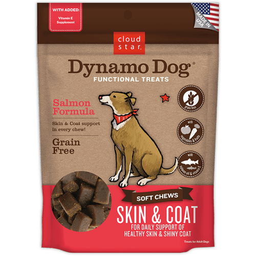 Cloud Star Dynamo Dog Skin & Coat Treats | Pisces Pets