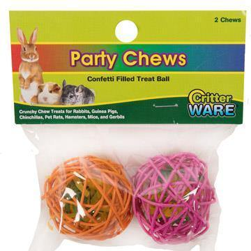 Critter Ware Party Chews | Pisces Pets