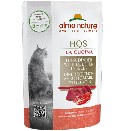Almo Nature La Cucina Tuna with Lobster Cat Food - 55 g | Pisces Pets