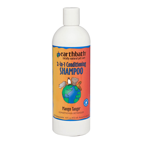 Earthbath 2-in-1 Conditioning Shampoo Mango Tango | Pisces Pets