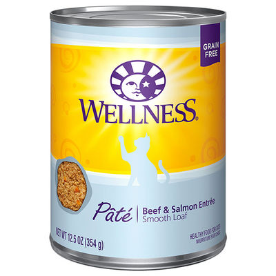 Wellness Cat Beef & Salmon Pate - 354 g | Pisces Pets