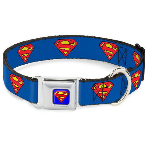 Buckle-Down Super Man Collar | Pisces Pets