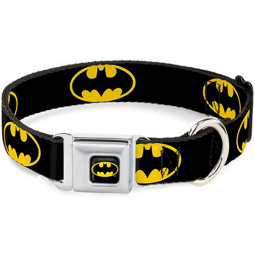 Buckle-Down Batman Shield Collar / Leash | Pisces Pets