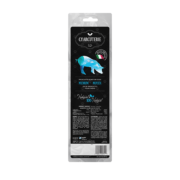 Dogit Charcuterie Prosciutto Bone for Dogs - Medium Tibia | Pisces Pets