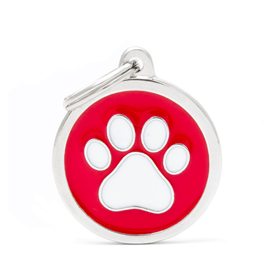 My Family Circle & Paw Pet ID Tag | Pisces Pets