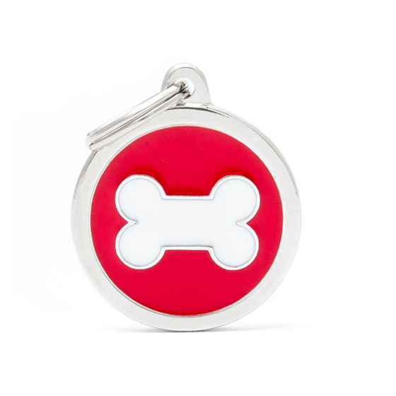 My Family Circle with Bone Pet ID Tag | Pisces Pets