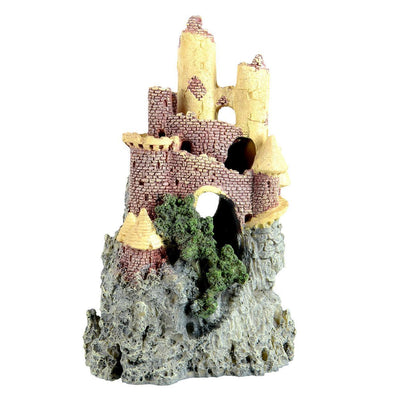 Underwater Treasures Castle on Moutain | Pisces Pets