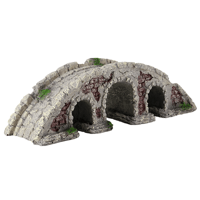 Underwater Treasures Stone Bridge | Pisces Pets