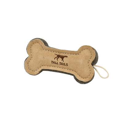 Tall Tails Natural Wool Bone Toy | Pisces Pets