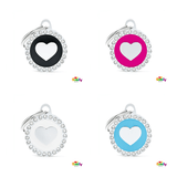 My Family Circle & Heart Pet ID Tag | Pisces Pets
