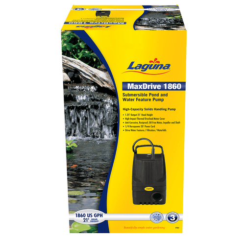 Laguna MaxDrive Submersible Pump | Pisces Pets