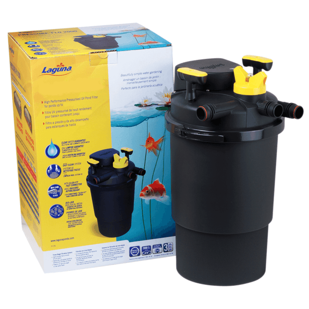 Laguna Pressure Flo High-Performance Pond Filter | Pisces Pets