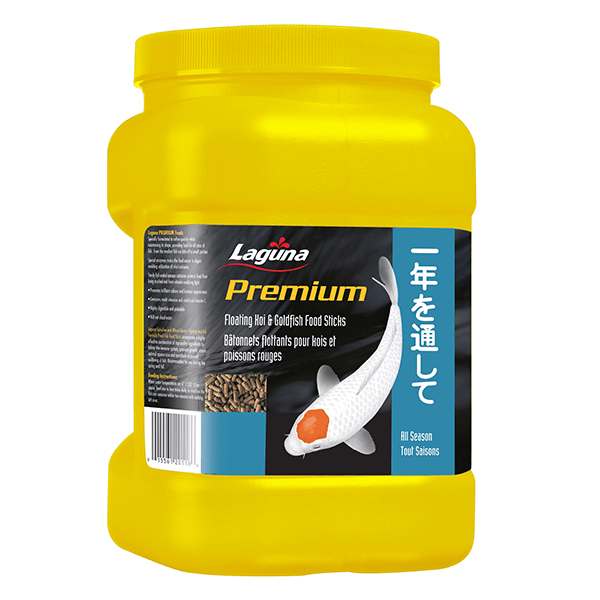 Laguna Premium All Season Diet Koi & Goldfish Floating Food Sticks | Pisces Pets