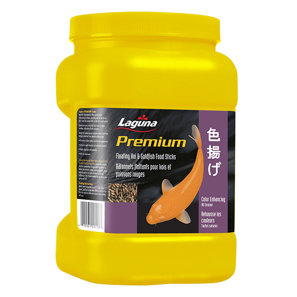 Laguna Premium Colour Enhancing Koi & Goldfish Floating Food Sticks | Pisces Pets