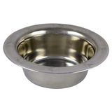 Arjan Stainless Steel Bowl Paw Print Design - Available in Various Sizes | Pisces Pets