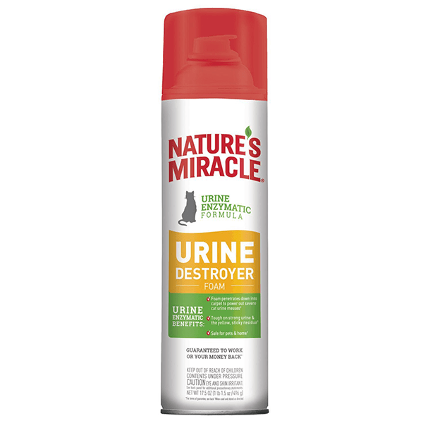 Nature's Miracle Urine Destroyer Foam | Pisces Pets