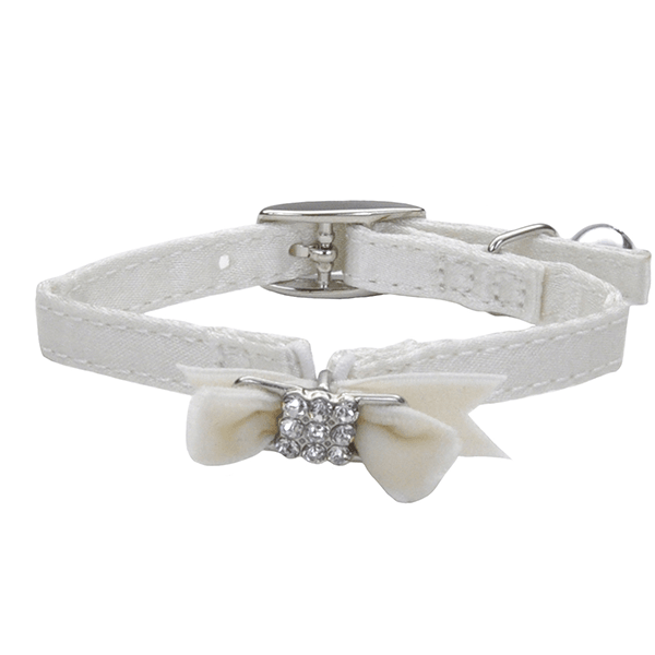 Lil Pals White Kitten Safety Collar | Pisces Pets