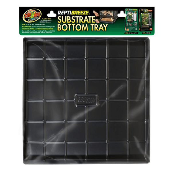 "Zoo Med ReptiBreeze Substrate Bottom Tray - 24""x24""x2"" 