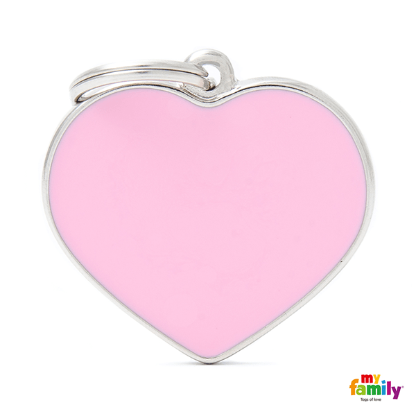 My Family Big Heart Pet ID Tag | Pisces Pets