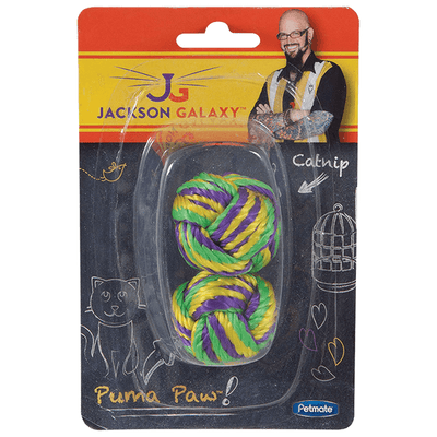 Jackson Galaxy Puma Paw Ball - 2 Pack | Pisces Pets