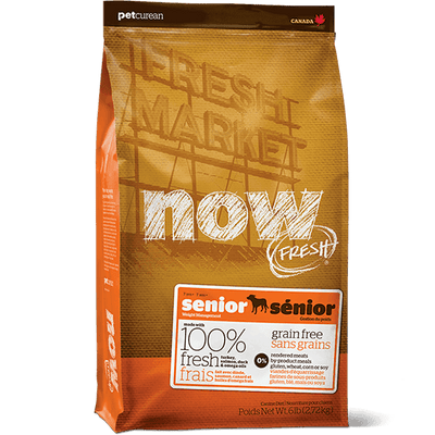NOW Senior Dog Food | Pisces Pets