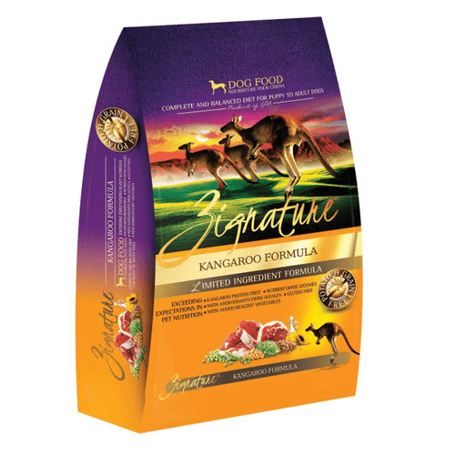 Zignature Kangaroo Dog Food | Pisces Pets