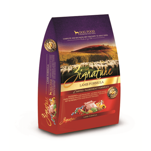 Zignature Lamb Dog Food