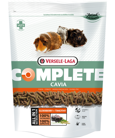 Versele-Laga Complete Cavia Elderberry & Timothy 500 g | Pisces Pets