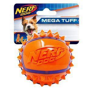 Nerf Dog 2-Tone Spike Ball Large | Pisces Pets