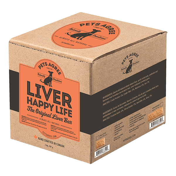 Pets Agree Liver Happy Life Treat Bars | Pisces Pets