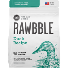BIXBI Rawbble Freeze Dried Food Duck Recipe - 340g | Pisces Pets