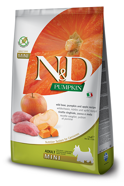 Farmina N&D Dog Food - Boar Pumpkin & Apple Mini