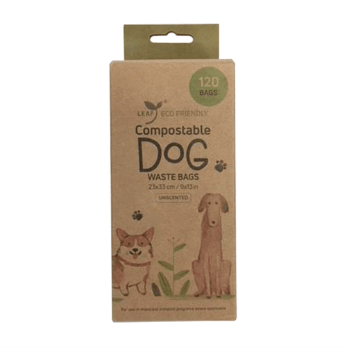 Leaf Compostable Dog Waste Bags | Pisces Pets