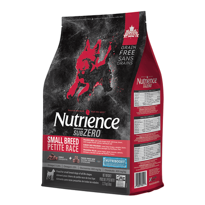 Nutrience SubZero Small Breed Prairie Red Dog Food | Pisces Pets
