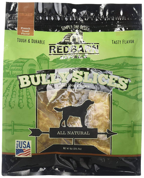Redbarn Naturals Bully Slices French Toast Flavour - 255.15g | Pisces Pets