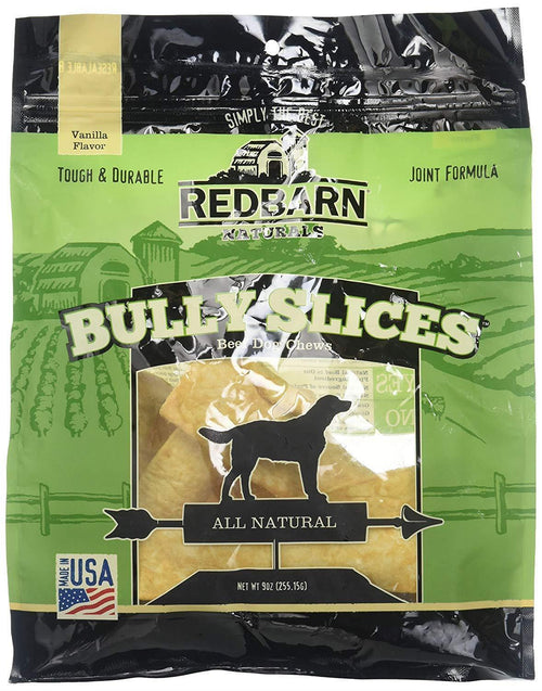 Redbarn Naturals Bully Slices Vanilla Flavour - 255.15g | Pisces Pets