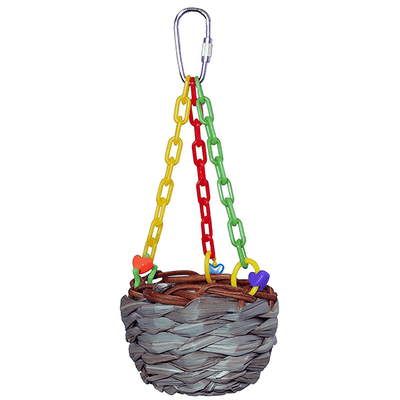 Super Bird Hanging Treat Basket | Pisces Pets
