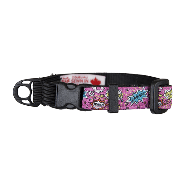 RC Pets Pink Comic Sounds Kitty Clip Collar | Pisces Pets