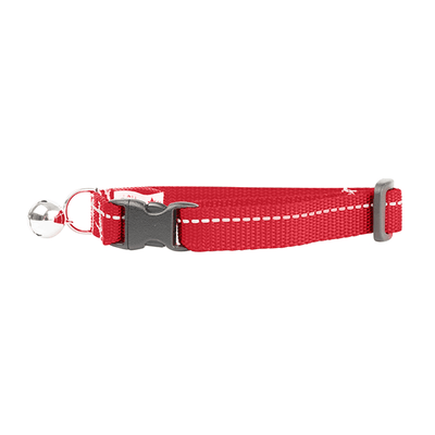 RC Pets Red Primary Kitty Breakaway Collar | Pisces Pets