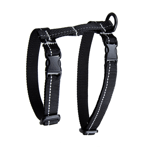 RC Pets Black Primary Kitty Harness - Large | Pisces Pets