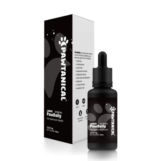 Pawtanical Defence Full Spectrum Hemp Oil - Available in 3 Sizes | Pisces Pets