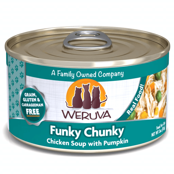 Weruva Funky Chunky Chicken Soup with Pumpkin - 85 g | Pisces Pets