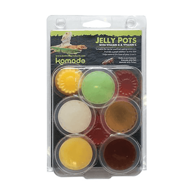 Komodo Jelly Pots Mixed Flavours - 8 Piece | Pisces Pets