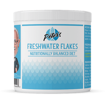 Peter's Freshwater Flakes - Available in Multiple Sizes | Pisces Pets
