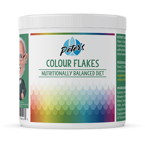 Peter's Colour Flakes - Available in Multiple Sizes | Pisces Pets