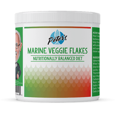 Peter's Marine Veggie Flakes - Available in 2 Sizes | Pisces Pets